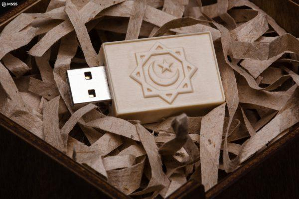 USB накопитель из бивня мамонта